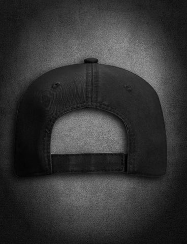 AFA Distressed Low Profile Hat Black - AmericanFireApparel  - 4