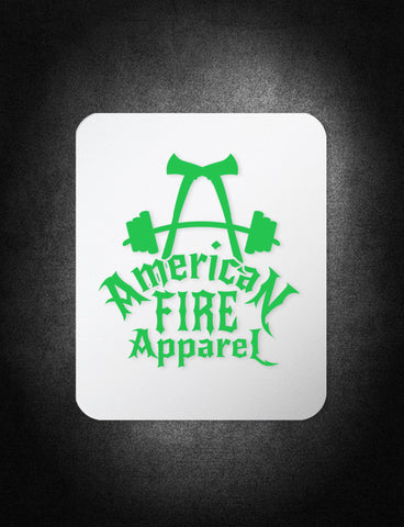 AFA Pride Decal - AmericanFireApparel  - 5