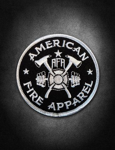 AFA Black Patch - AmericanFireApparel  - 2