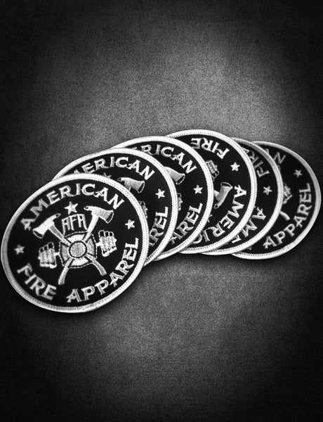 AFA Black Patch - AmericanFireApparel  - 1