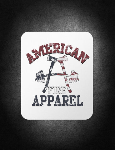 AFA Patriot Decal - AmericanFireApparel  - 1