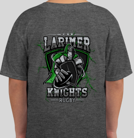 Youth Larimer Rugby Knight Design