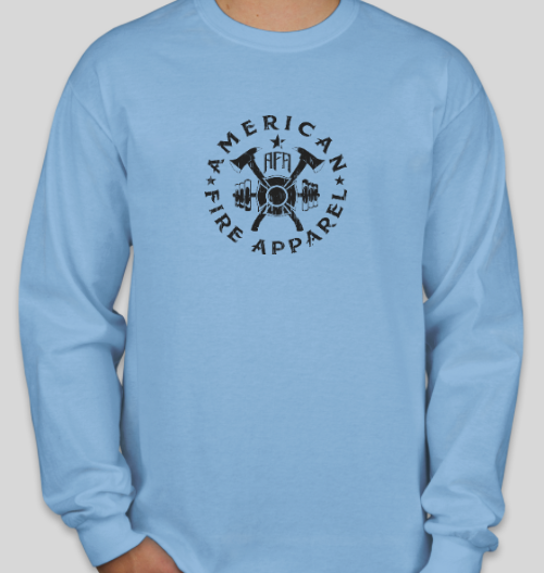 Long Sleeve Color Rush - American Fire Apparel