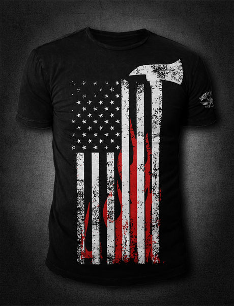 AFA Flag- Front Print - AmericanFireApparel