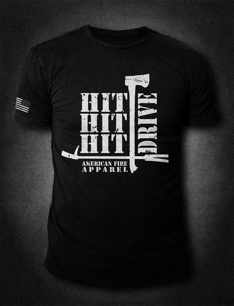 Hit Drive-Black - AmericanFireApparel