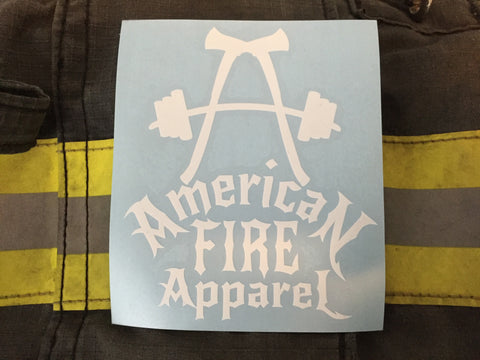 AFA Pride Decal - AmericanFireApparel  - 2