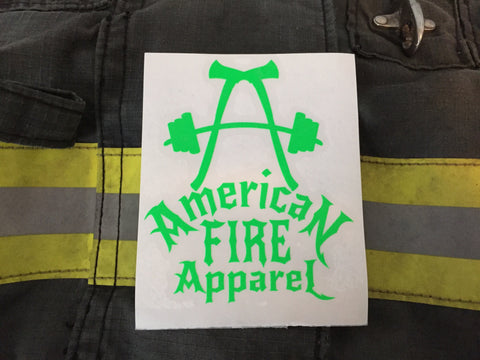 AFA Pride Decal - AmericanFireApparel  - 3