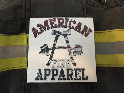 AFA Patriot Decal - AmericanFireApparel  - 2