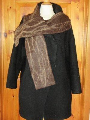 Brown Scarves with Fawn Wisps