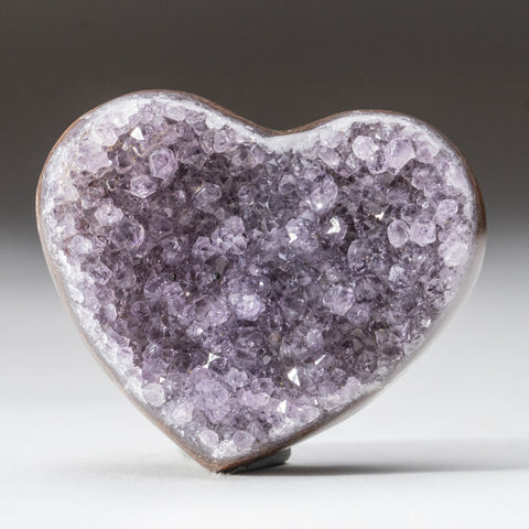 Amethyst Cluster Heart from Brazil (150.6 grams)