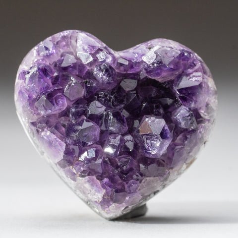 Amethyst Cluster Heart from Brazil (158 grams)