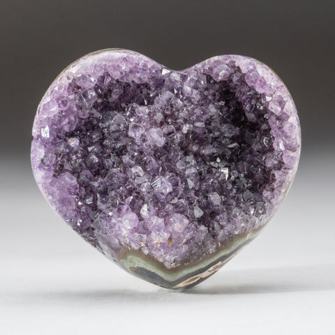 Amethyst Cluster Heart from Brazil (201.6 grams)
