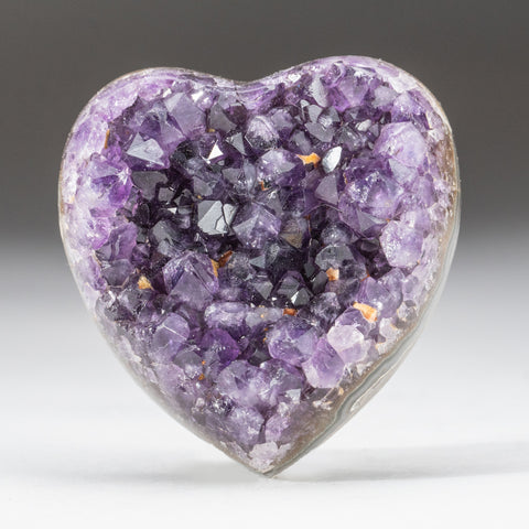 Amethyst Cluster Heart from Brazil (191.2 grams)