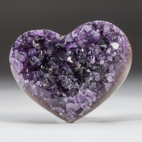 Amethyst Cluster Heart from Brazil (311.2 grams)
