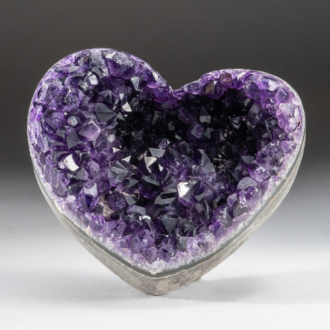 Amethyst Cluster Heart from Brazil (2 lbs)