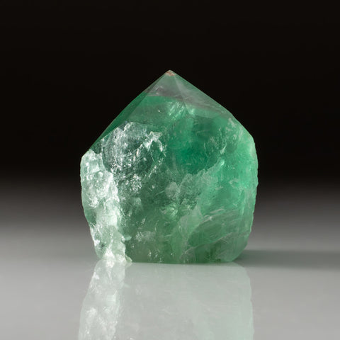 Green Fluorite Point From Mexico (283.5 grams)
