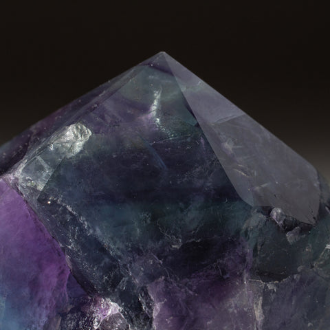 Rainbow Fluorite Point From Mexico (312 grams)