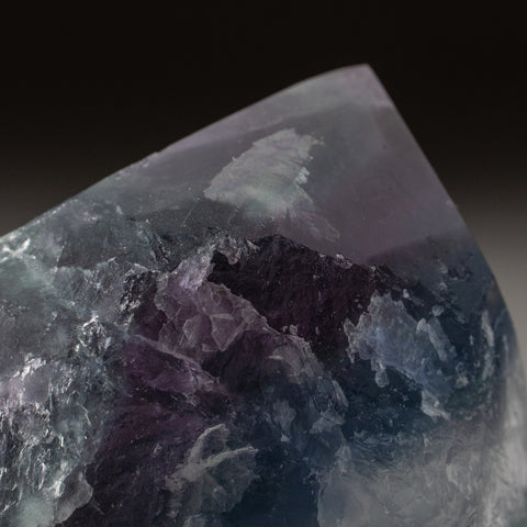 Rainbow Fluorite Point From Mexico (301.6 grams)