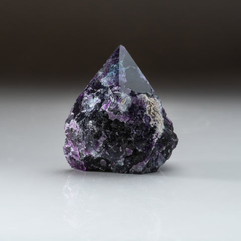 Rainbow Fluorite Point From Mexico (272.3 grams)