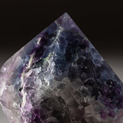 Rainbow Fluorite Point From Mexico (348.4 grams)