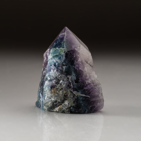 Rainbow Fluorite Point From Mexico (209.2 grams)