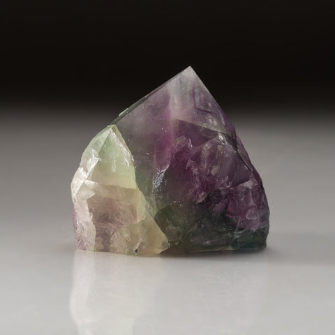 Rainbow Fluorite Point From Mexico (245.2 grams)