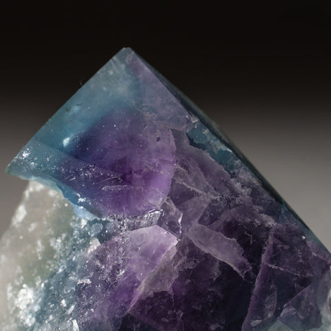 Rainbow Fluorite Point From Mexico (166.4 grams)