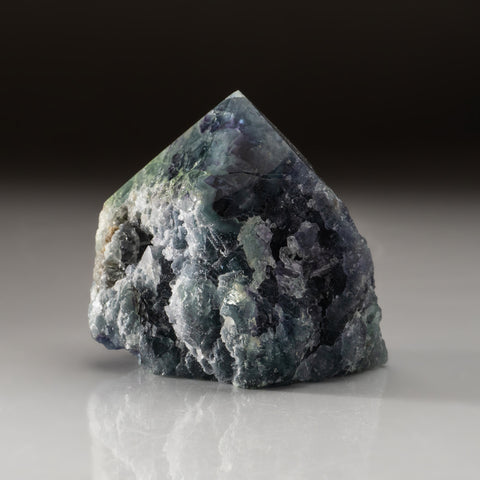 Rainbow Fluorite Point From Mexico (401.8 grams)