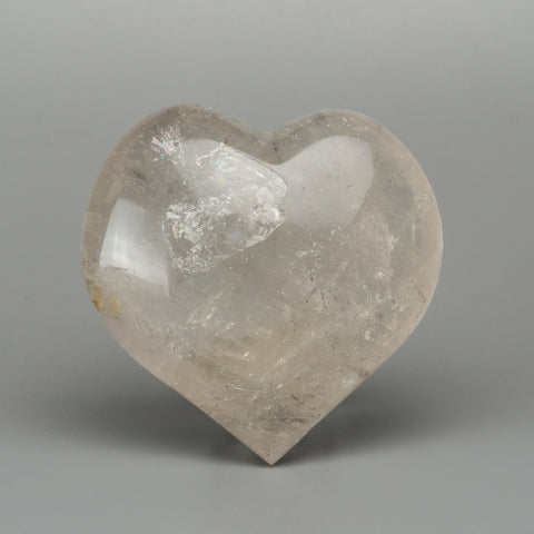 Clear Quartz Polished Heart From Brazil (431.5 grams)
