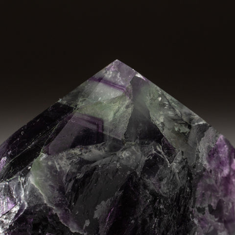 Rainbow Fluorite Point From Mexico (236.5 grams)