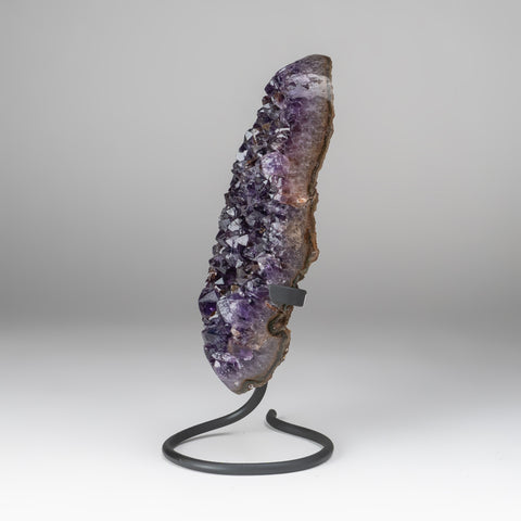 Amethyst Crystal Cluster on Stand from Brazil (2 lbs)