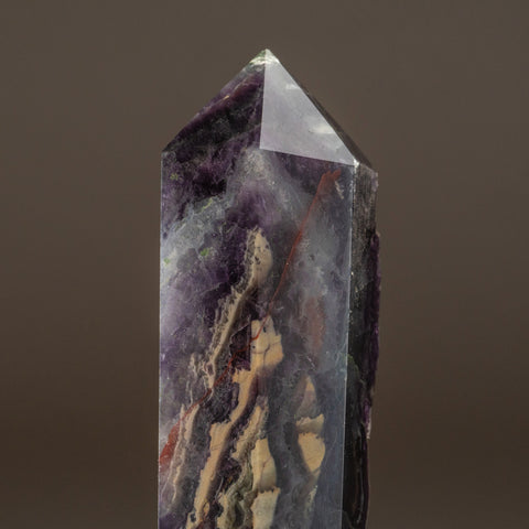Rainbow Fluorite Point From Mexico (1.4 lbs)