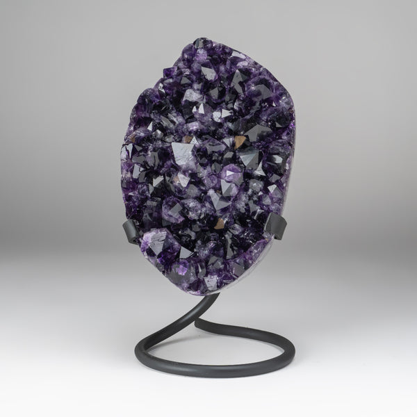 Amethyst Crystal Cluster on Stand from Brazil (4.4 lbs)