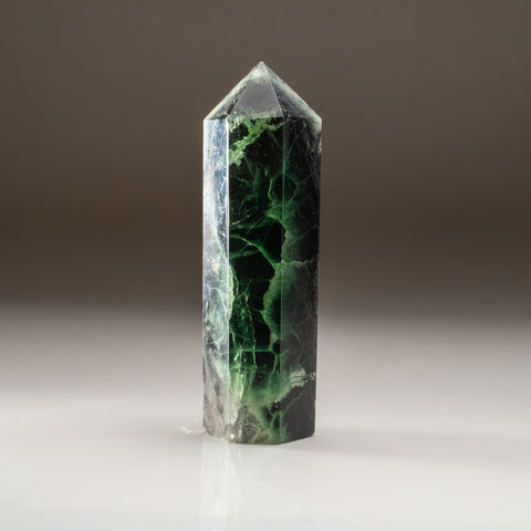Green Fluorite Point From Mexico (1.2 lbs)