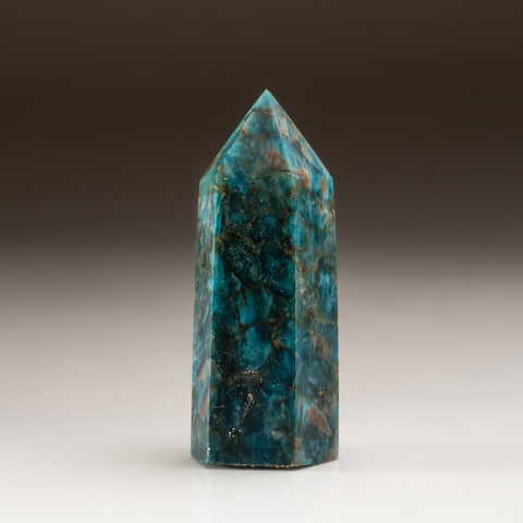 Polished Blue Apatite Freeform Madagascar (150 grams)
