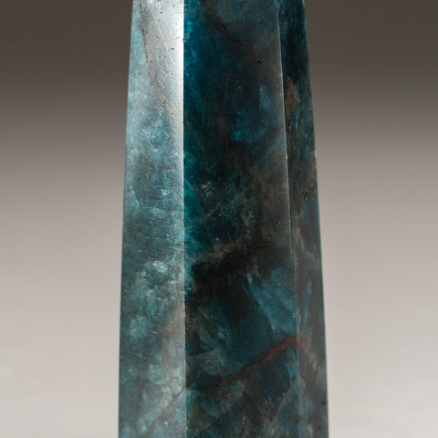 Polished Blue Apatite Freeform Madagascar (81 grams)