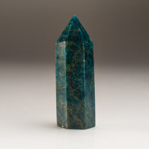 Polished Blue Apatite Freeform Madagascar (118.8 grams)