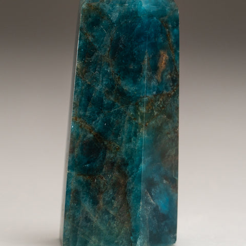 Polished Blue Apatite Freeform Madagascar (99.2 grams)