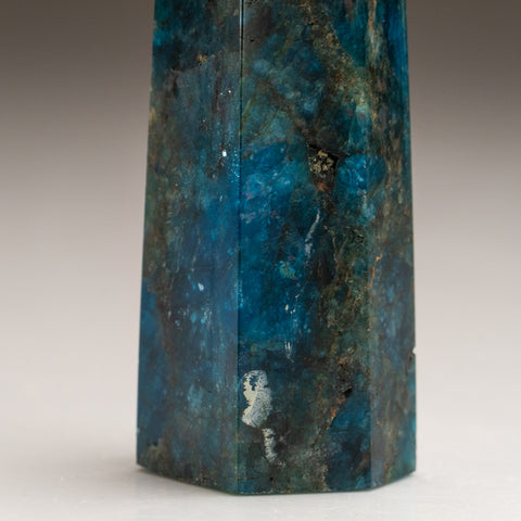 Polished Blue Apatite Freeform Madagascar (127.5 grams)