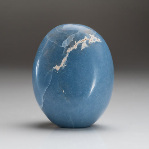 Polished Angelite Freeform from Madagascar (.8 lbs)