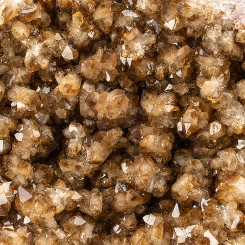 Citrine Quartz Crystal Cluster From Brazil (1.8 lbs)