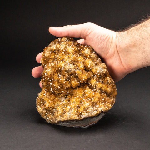Citrine Quartz Crystal Cluster From Brazil (4.4 lbs)