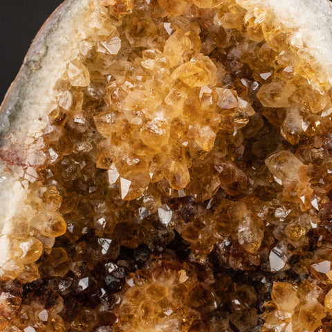 Citrine Quartz Crystal Cluster From Brazil (3.6 lbs)