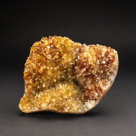Citrine Quartz Crystal Cluster From Brazil (5.2 lbs)