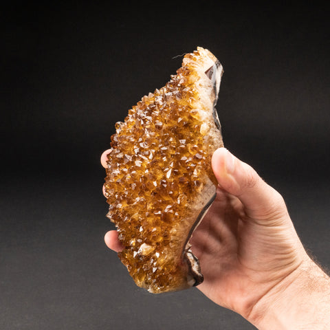 Citrine Quartz Crystal Cluster From Brazil (2.6 lbs)