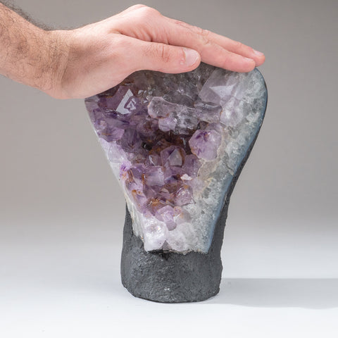 Amethyst Crystal Cluster From Brazil (6.8 lbs)