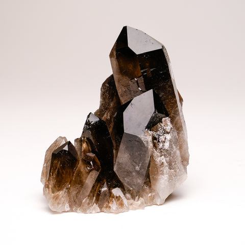 Smoky Quartz cluster from Mina Gerais, Brazil (601.5 grams)