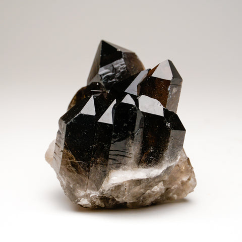 Smoky Quartz Cluster from Mina Gerais, Brazil (496.6 grams)