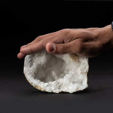 Genuine Calcite Geode From Morocco (1.6 lbs)
