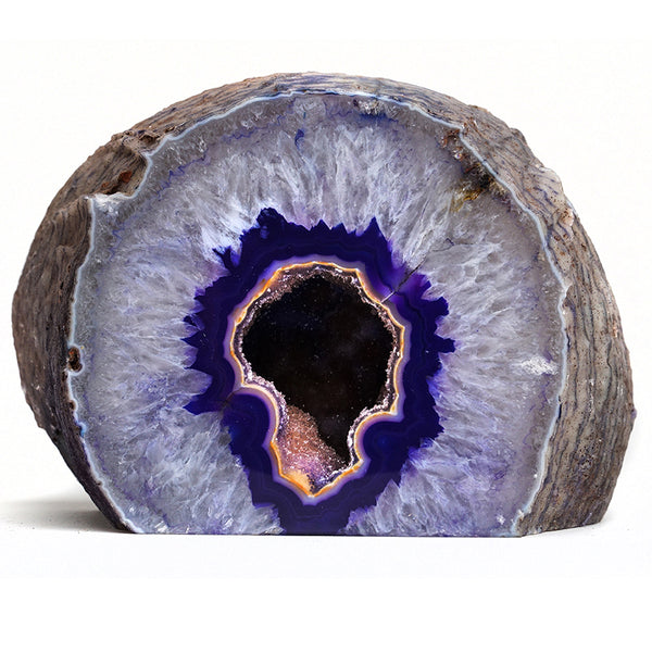 Banded Agate Geode From Brazil (5 lbs)